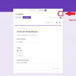 Langkah Cara melihat hasil Google Form